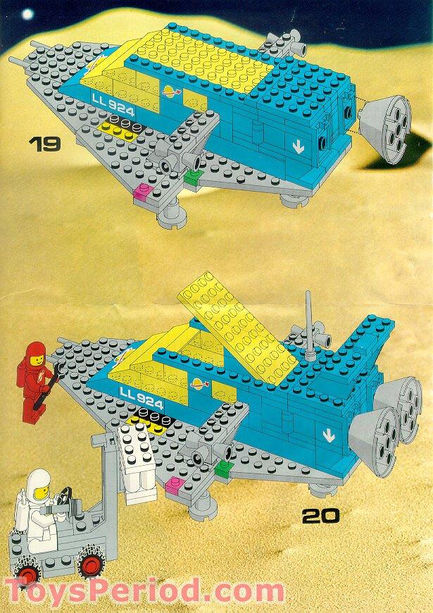 LEGO 924 Space Cruiser...