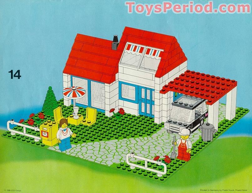 Bauanleitung Lego Haus