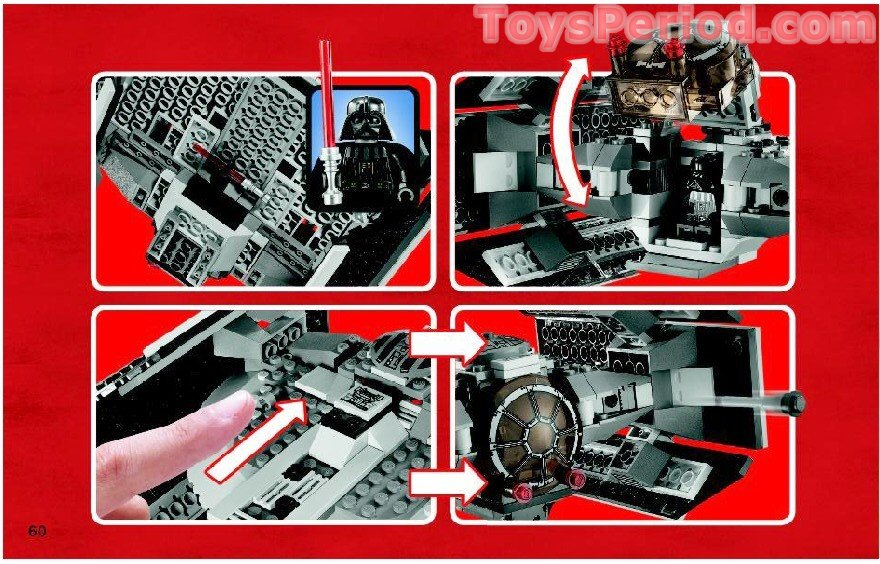 lego 8017 darth vader s tie fighter set parts inventory and instructions lego reference guide Star Wars LEGO Sets Death Star LEGO Set Used