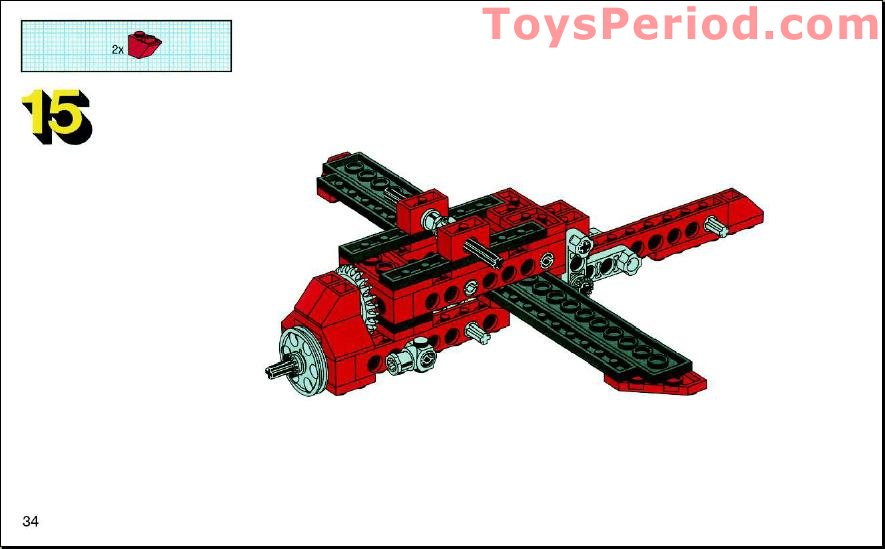 lego 3 in 1 helicopter instructions
