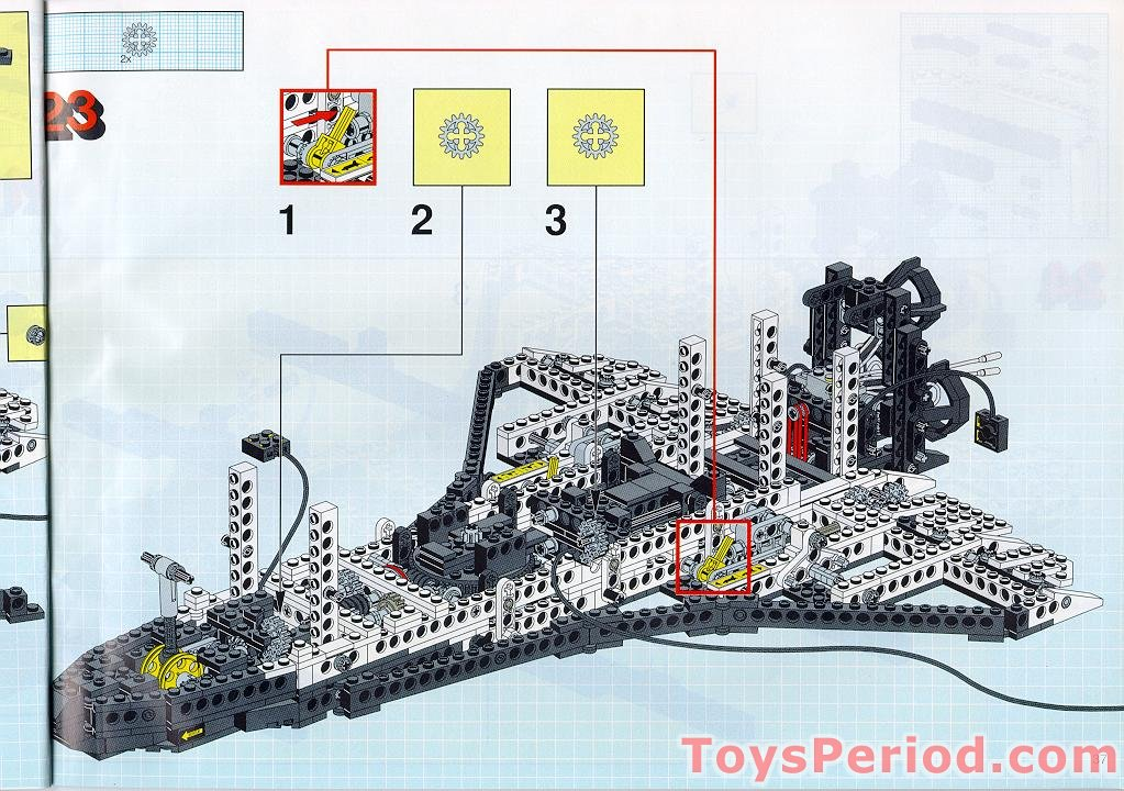 lego space shuttle building instructions - photo #35