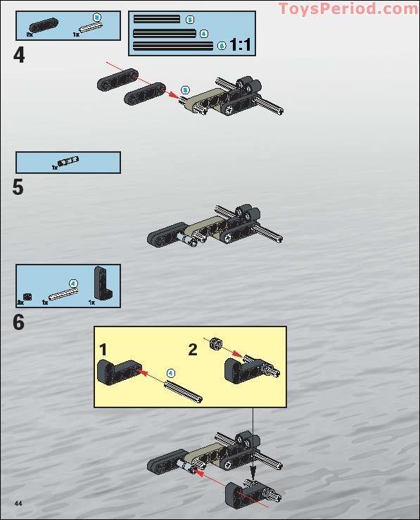 Technic Rotation Joint Ball Half 3L Liftarm 41679 Choose Quantity /& Color Lego