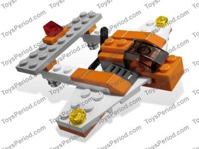 Lego 5762 Mini Plane Set Parts Inventory And Instructions Lego