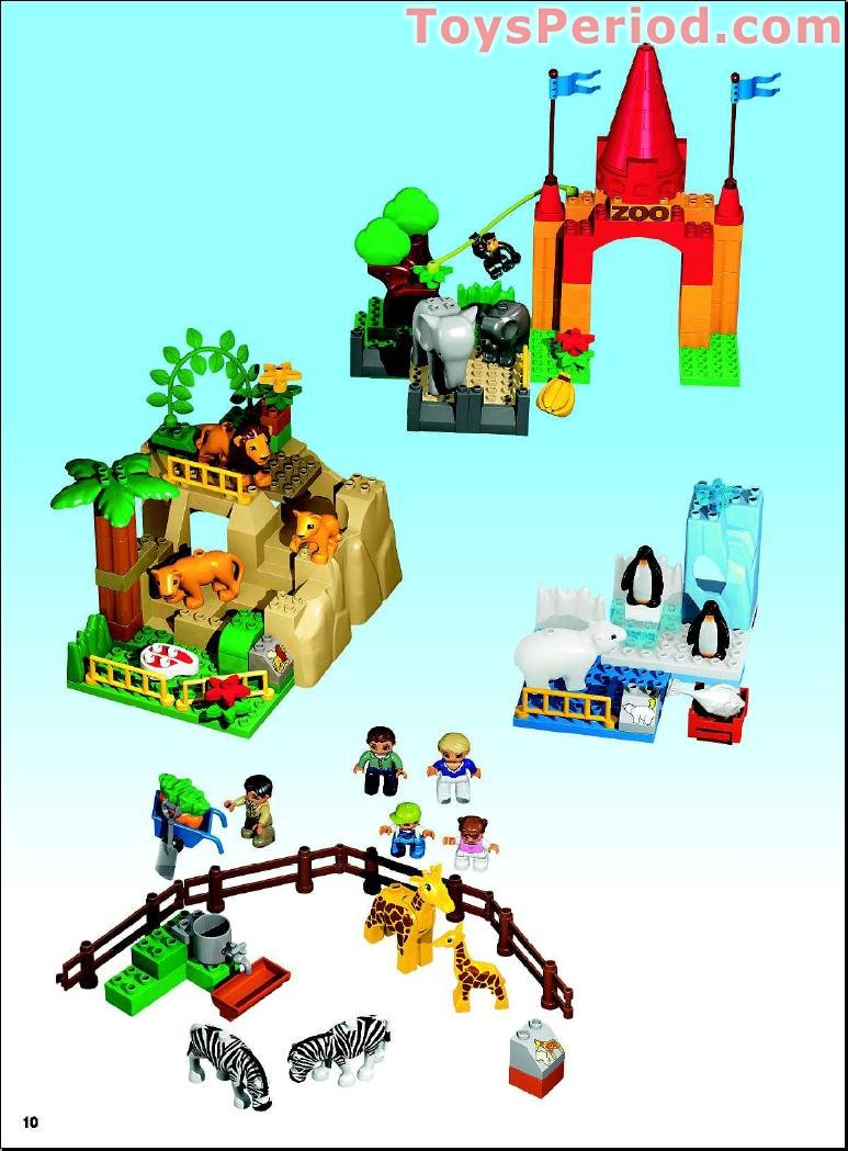 lego com friends animals instructions