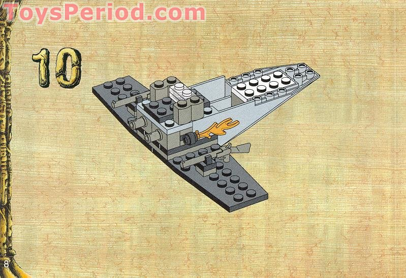Lego 5928 Bi Wing Baron Set Parts Inventory And Instructions Lego