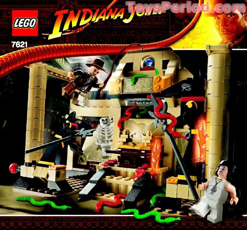 Lego 7621 Indiana Jones And The Lost Tomb Set Parts Inventory And