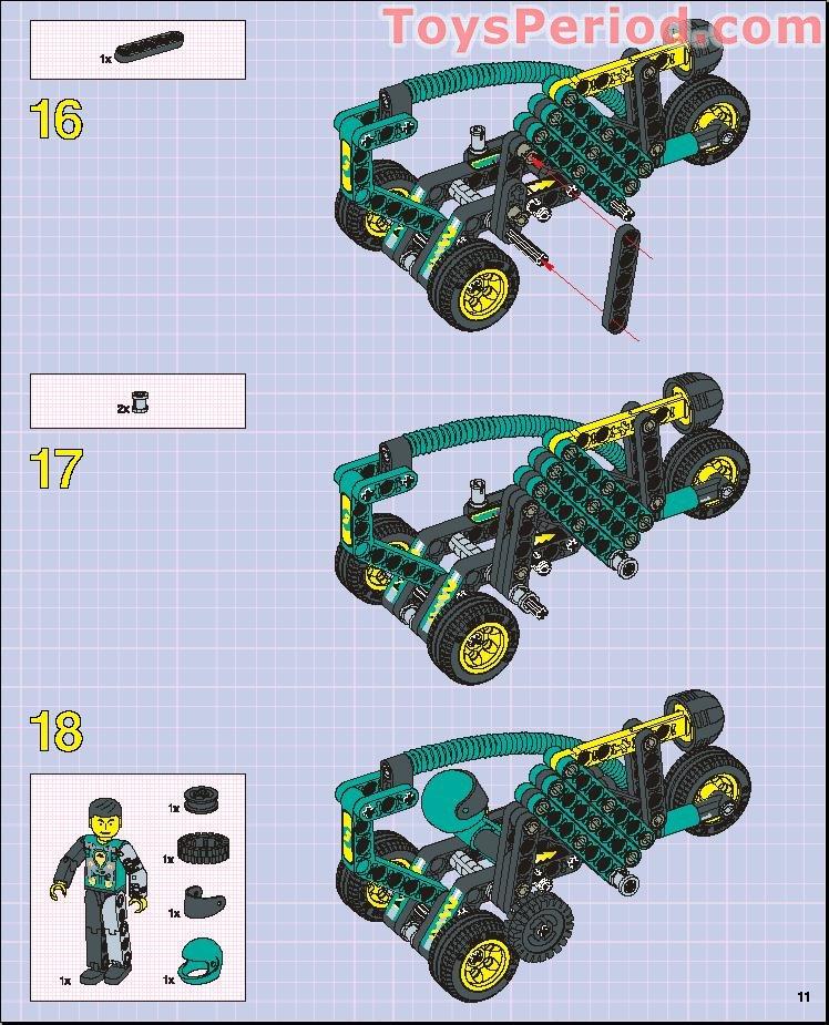 Lego 8245 Robot S Revenge Set Parts Inventory And