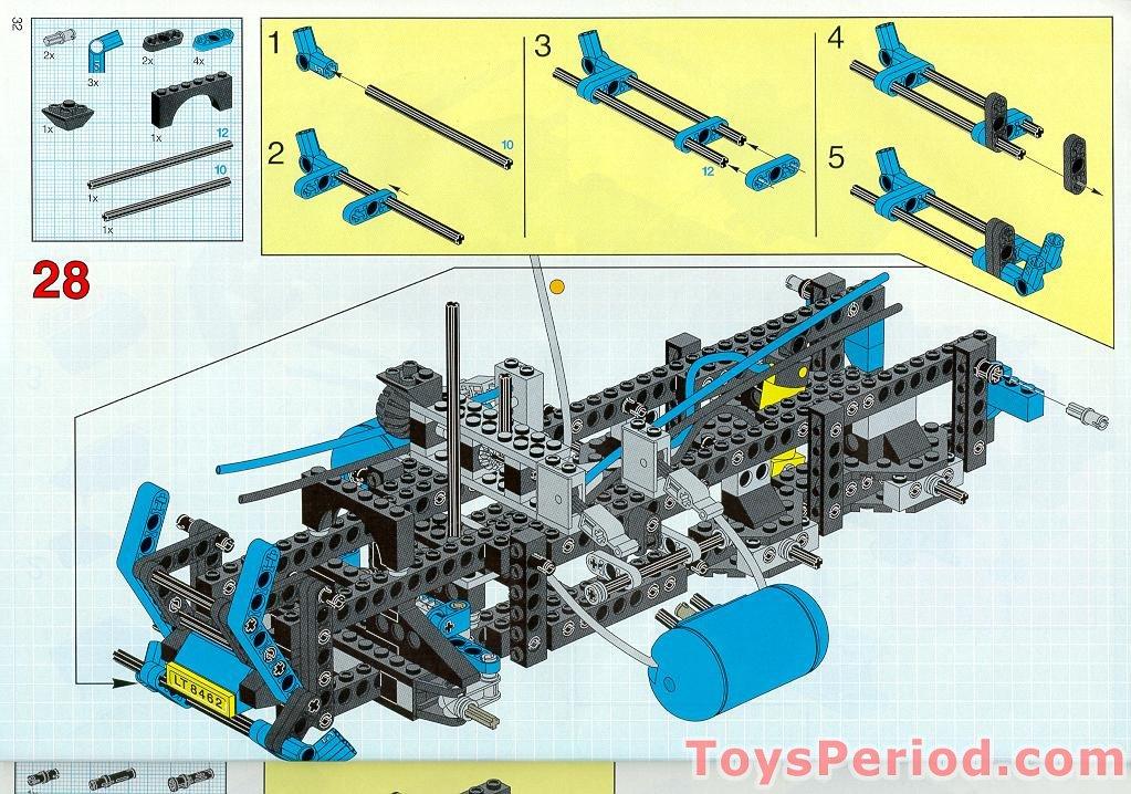 lego technic tow truck instructions