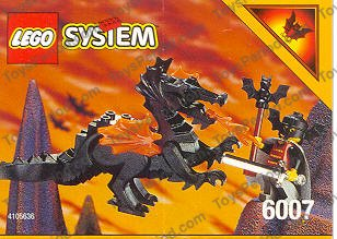 Lego 6007 Bat Lord Set Parts Inventory And Instructions