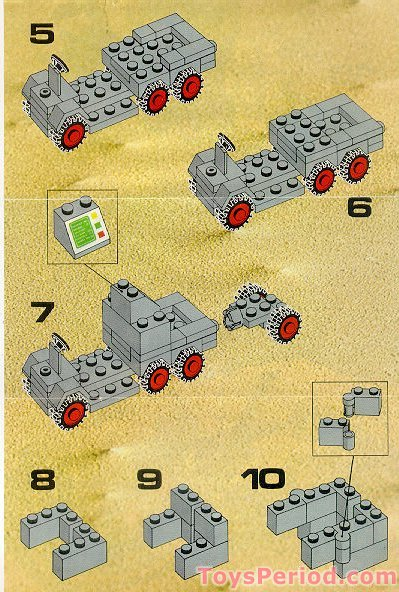 Lego 894 Mobile Tracking Station Non Us Version Of 452