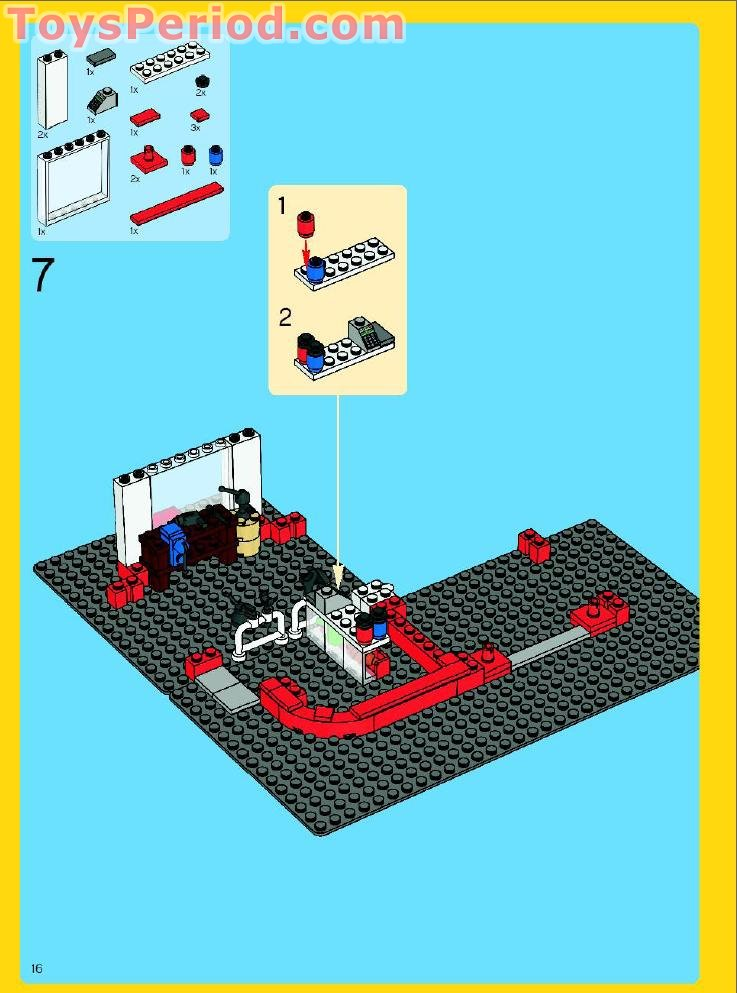 Lego 10184 Town Plan Set Parts Inventory And Instructions
