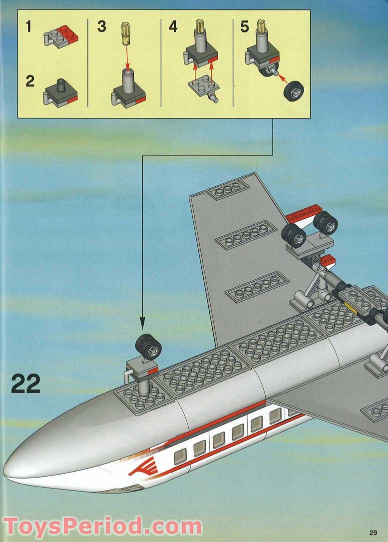 Lego 7894 1 Airport Set Parts Inventory And Instructions Lego