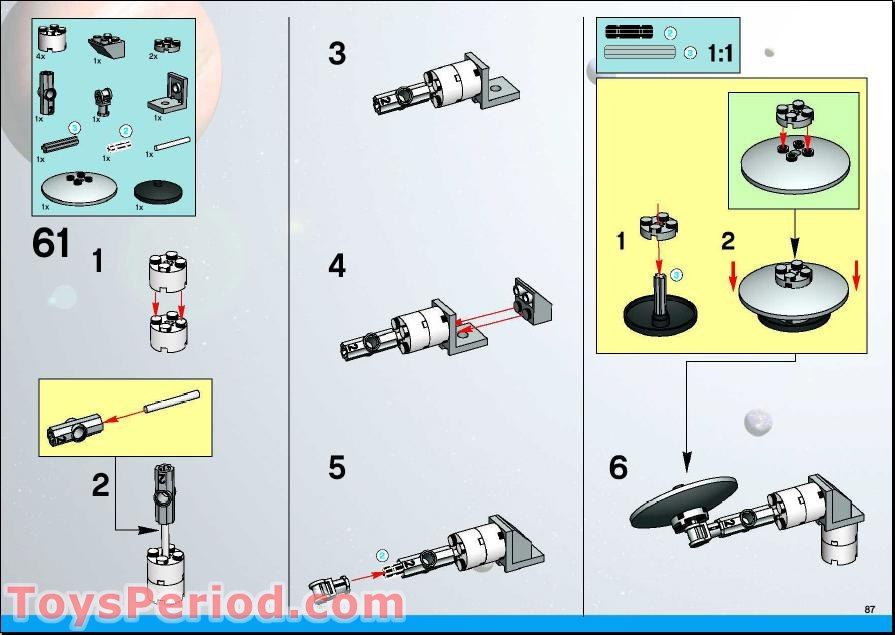 lego instruction book holder