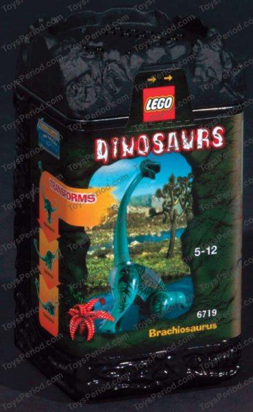 Lego 6719 Brachiosaurus Set Parts Inventory And