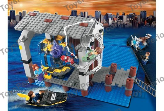 Lego 4856 doc ock 39 s hideout set parts inventory and instructions lego reference guide - Lego spiderman 2 ...