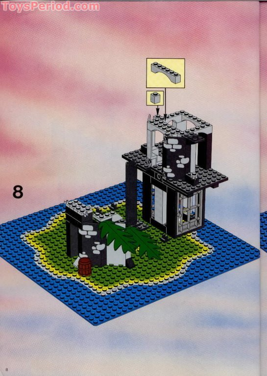 LEGO 6270 Forbidden Island Set Parts Inventory and ...