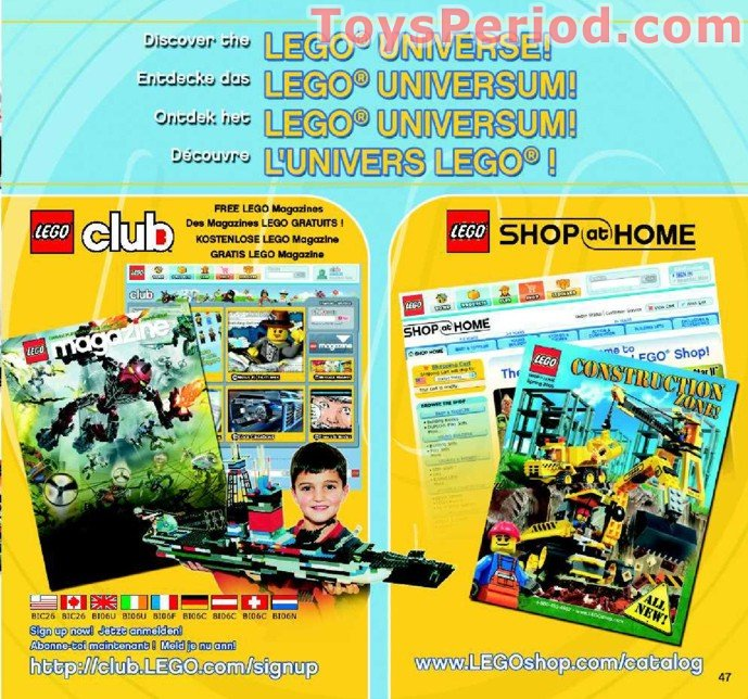 LEGO 8625 Umbra Set Parts Inventory And Instructions
