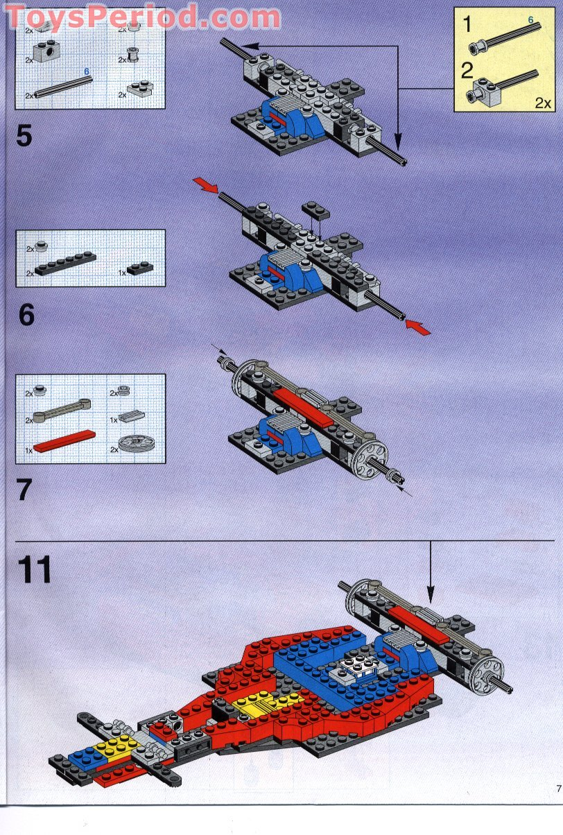 lego f1 car instructions