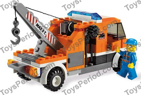 lego city tow truck instructions
