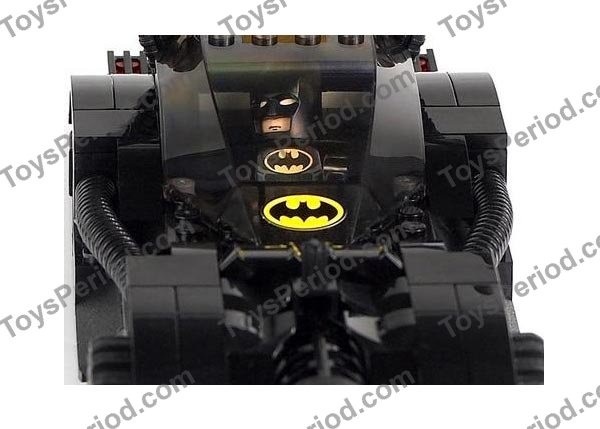 Lego 7781 The Batmobile Two Faces Escape Set Parts Inventory And