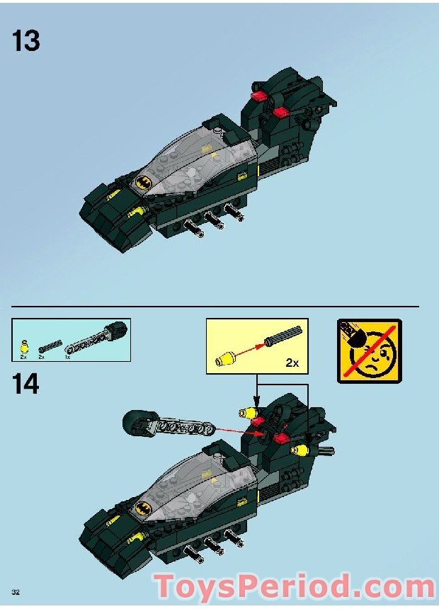 LEGO 7787 The Bat-Tank...