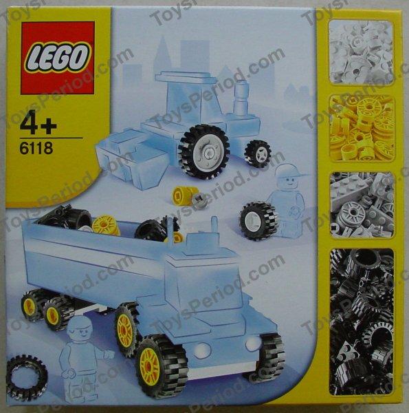 LEGO WHEELS 100 pieces set city BRAND NEW small medium large tyre axle 6118 2xXL