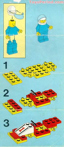 Lego 6503 Sprint Racer Set Parts Inventory And