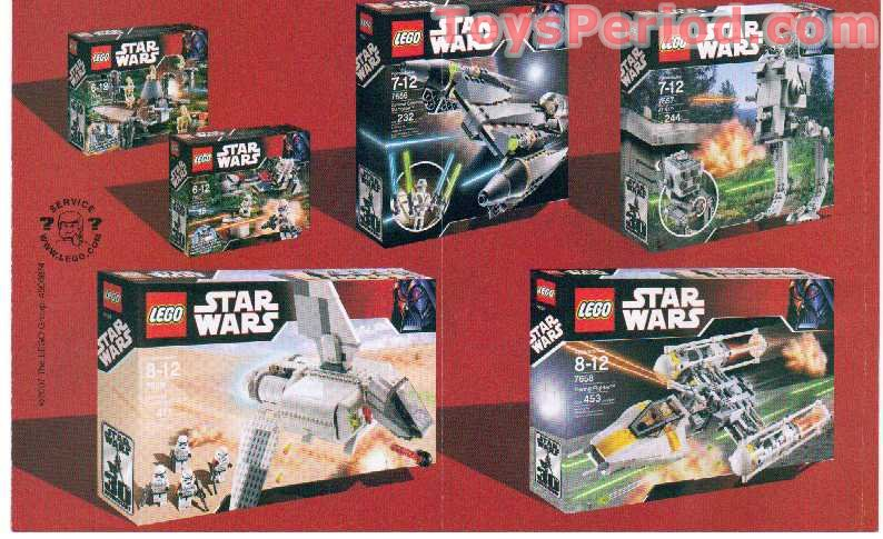 Lego 7655 Clone Troopers Battle Pack Set Parts Inventory And