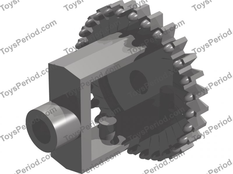 LEGO Sets with Part 73071 Technic Differential, Gear old style