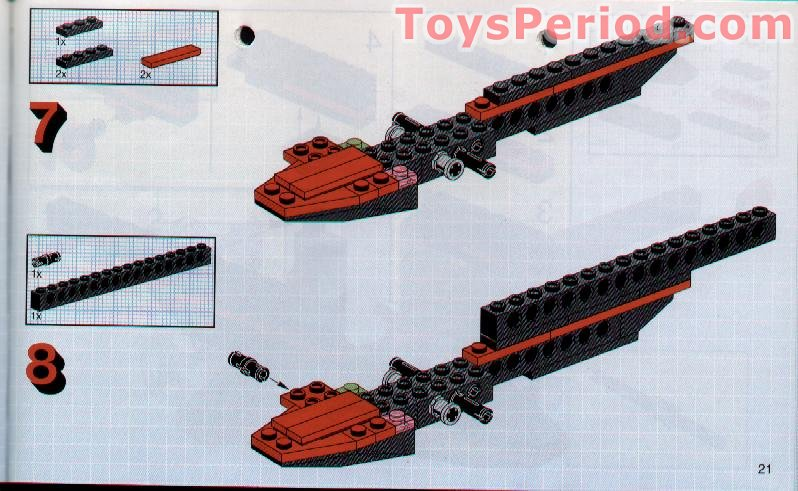 Lego 8223 Hydrofoil 7 Set Parts Inventory And Instructions Lego