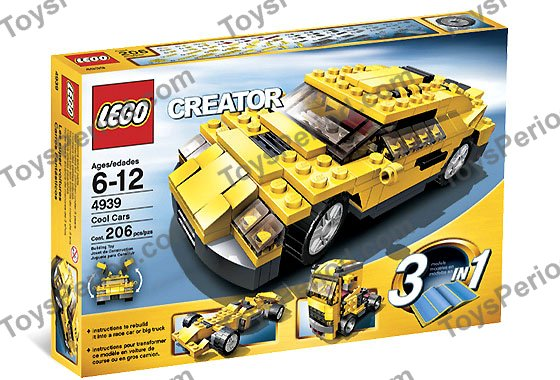 how to build 2 cool lego cars