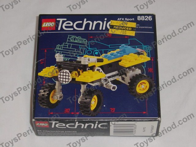 LEGO 8826 Atx Sport Cycle Image 5
