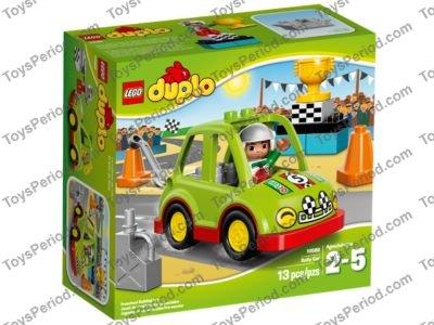 LEGO DUPLO Rally Car Figure 13 Pcs Toys Kids 10589 NEW BOX SEALED