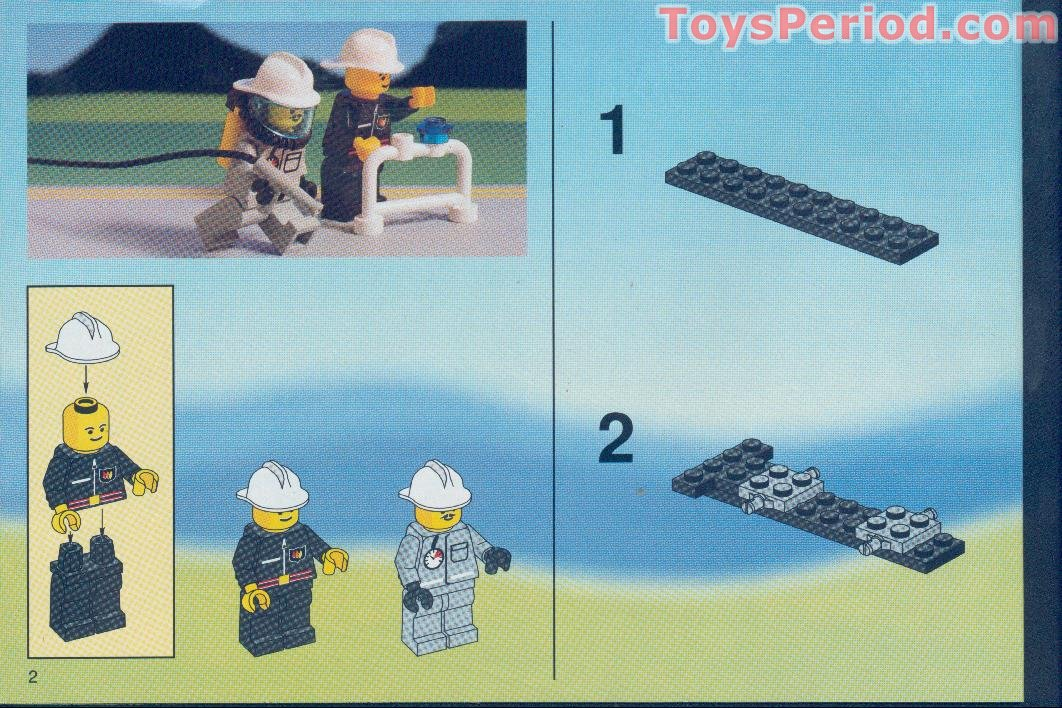 Lego 6340 Hook And Ladder Set Parts Inventory And Instructions