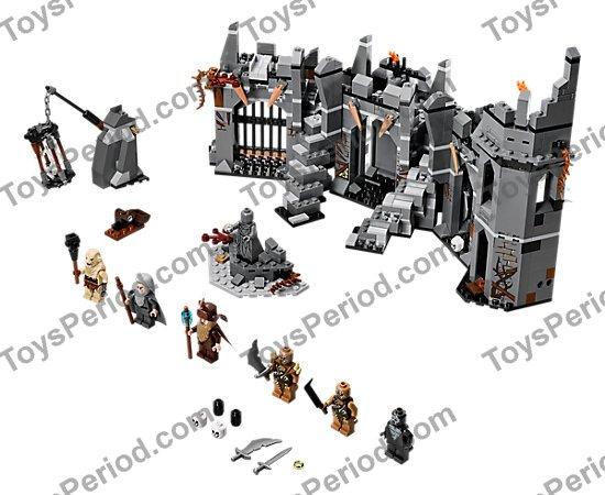 NEW LEGO The Hobbit 79014 Dol Guldur Battle AZOG Minifigure Figure Pale Orc Mace