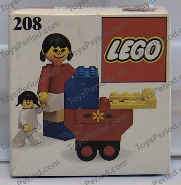 Lego 208 Mother With Baby Carriage Set Parts Inventory And