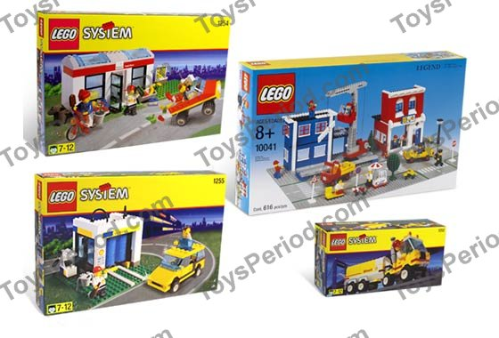 Shell Car Wash >> LEGO K10041 LEGO Town Kit Set Parts Inventory and Instructions - LEGO Reference Guide