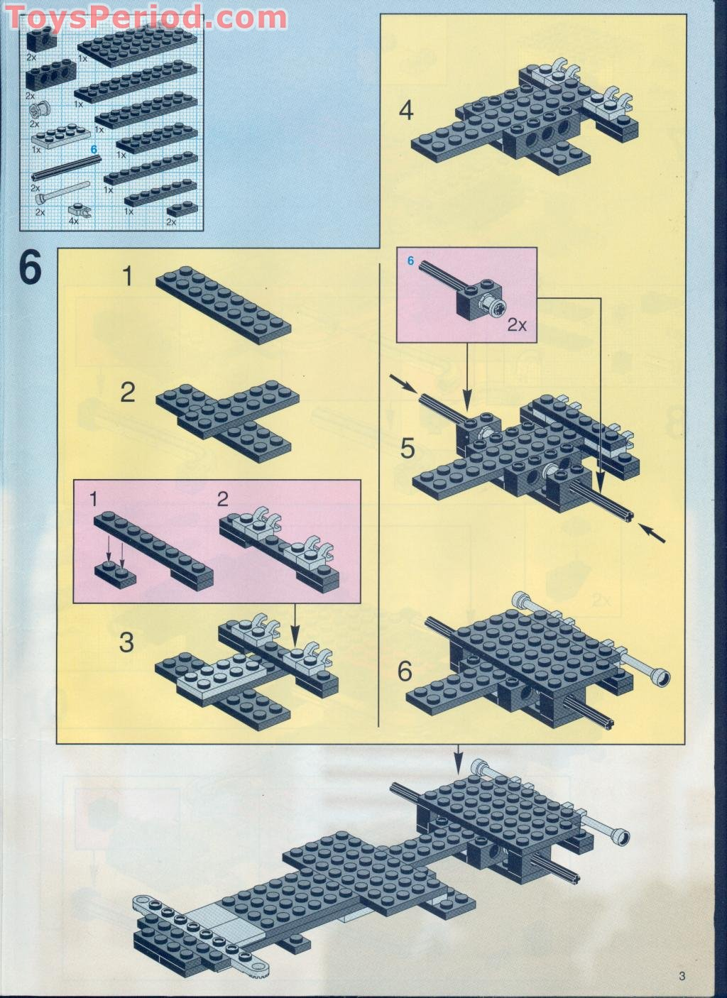 lego model instructions free