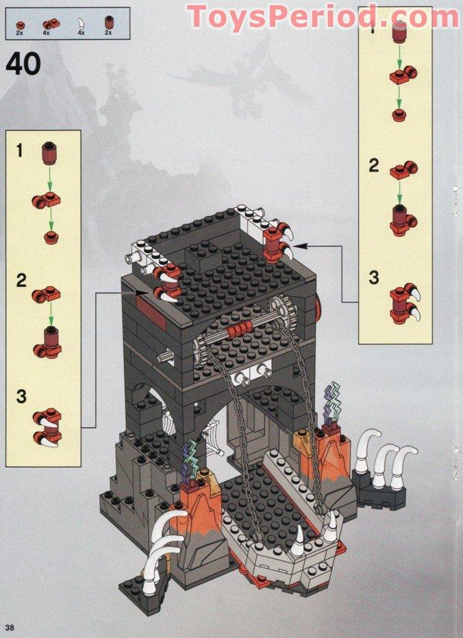 imaginarium dragon tower castle instructions