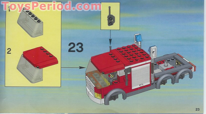 Lego City 7239 manual