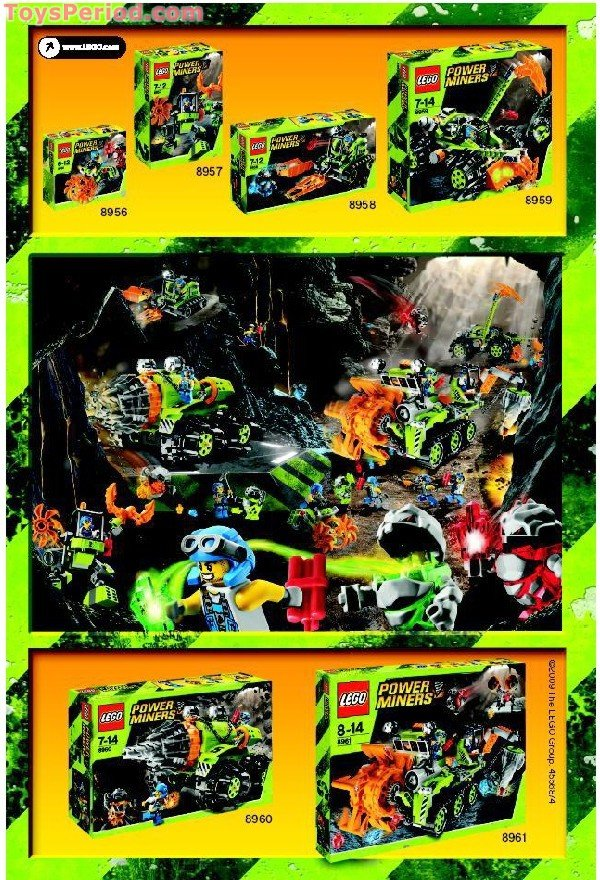 Lego 8907 Rock Hacker Set Parts Inventory And Instructions