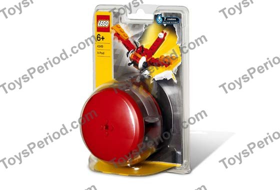 Blaster new New Red, Red Megaphone 4 X LEGO 4349 Minifigure Ring Voix