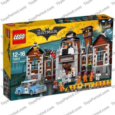 Lego 70912 Arkham Asylum Set Parts Inventory And Instructions Lego