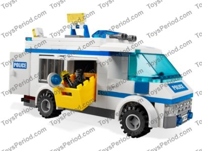 Lego 7286 Prisoner Transport Set Parts Inventory And Instructions