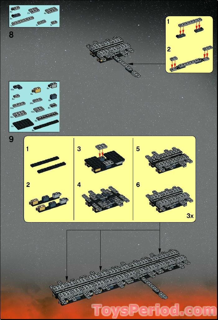 lego 10143 death star ii ultimate collector series ucs set parts inventory and instructions lego star wars death star instruction manual LEGO Death Star Turret