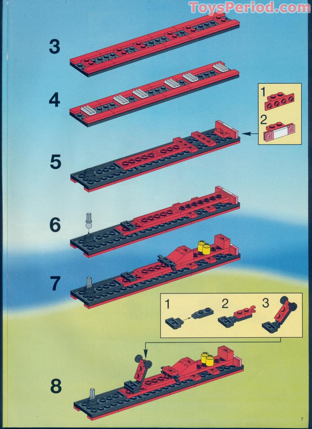 Lego 6539 Victory Cup Racers Set Parts Inventory And