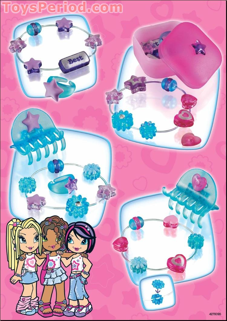 Lego 7540 Friends 4 Ever Jewels And More Set Parts Inventory And