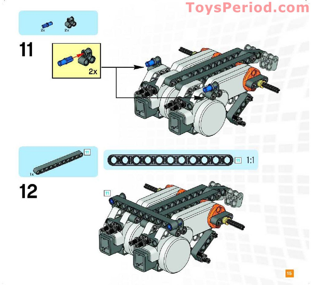 Nxt Building Instructions 9797