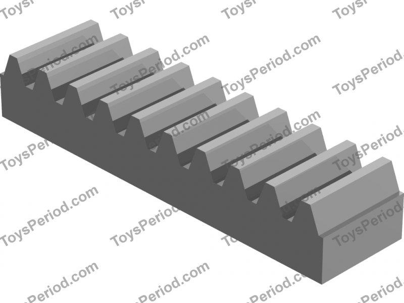 Technic Gear Rack 1 x 4 in Black part no 3743 2x Technic Lego