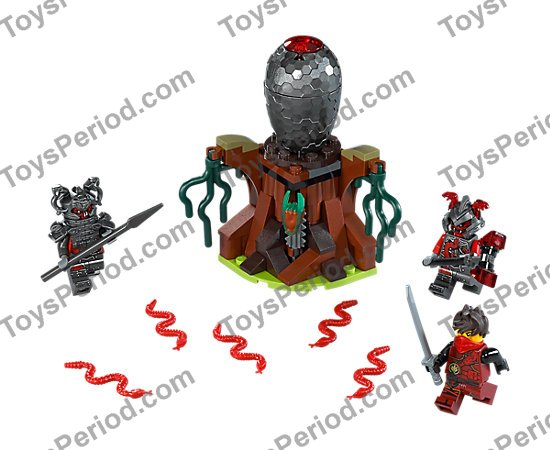 Lego Minifigure Armor Breastplate with Shoulder Pad Left Spiked Pattern